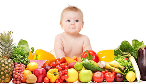 Healthy baby foods