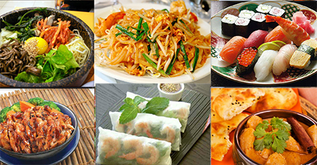 food and and Asian culture